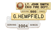 Visual Badge Name Plates & Tie Bars