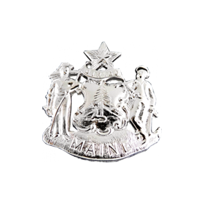 Blackinton Model A6319 Maine Coat of Arms