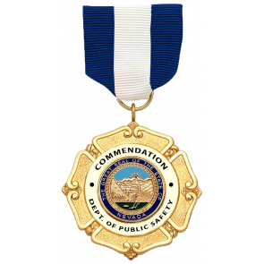 S&W MD107 Commendation Metal