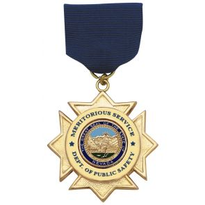 S&W MD105 Meritorious Service Medal