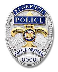 Florence Police Badge