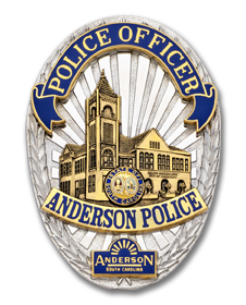 Anderson Police Badge